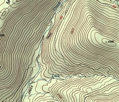 نقشه منحنی میزان